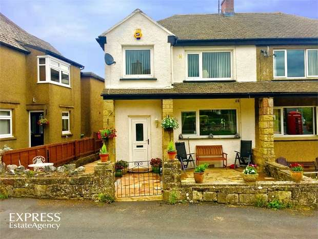4 Bedrooms Semi Detached House for sale in Rowgate, Kirkby Stephen, Cumbria