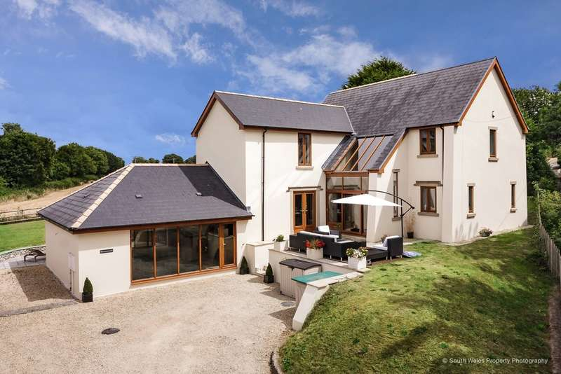 4 Bedrooms Detached House for sale in Corntown, Vale Of Glamorgan, CF35 5BB