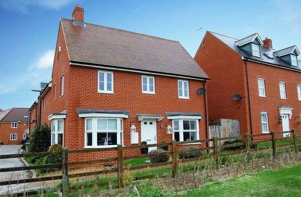 4 Bedrooms Detached House for sale in Brimstone Lane, Aylesbury, Buckinghamshire, HP19 9BU