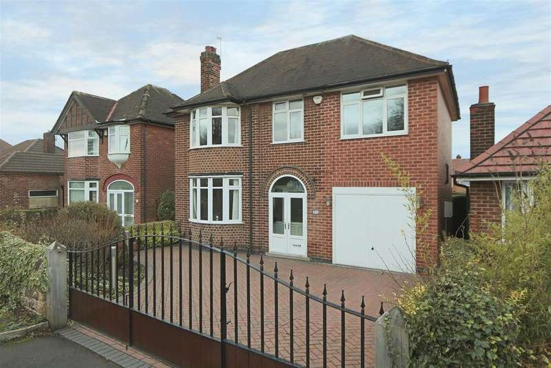 4 Bedrooms Detached House for sale in Sandfield Road, Arnold, Nottinghamshire, NG5 6QA