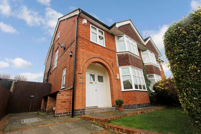 3 Bedrooms Semi Detached House for sale in Clarefield Road, Leicester, LE3
