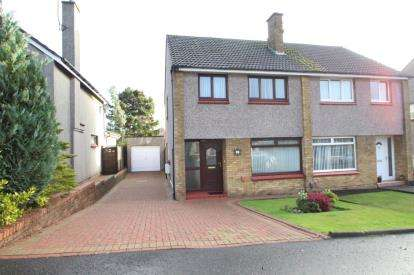 3 Bedrooms Semi Detached House for sale in Turnberry Drive, Kirkcaldy