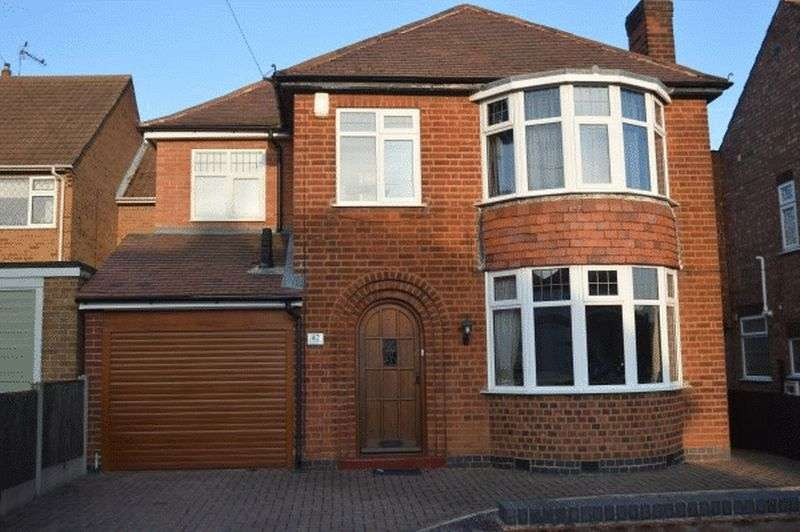 4 Bedrooms Property for sale in Welwyn Road, Hinckley