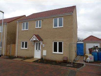 4 Bedrooms Detached House for sale in Rosewood Close, Whittlesey, Peterborough, Cambridgeshire