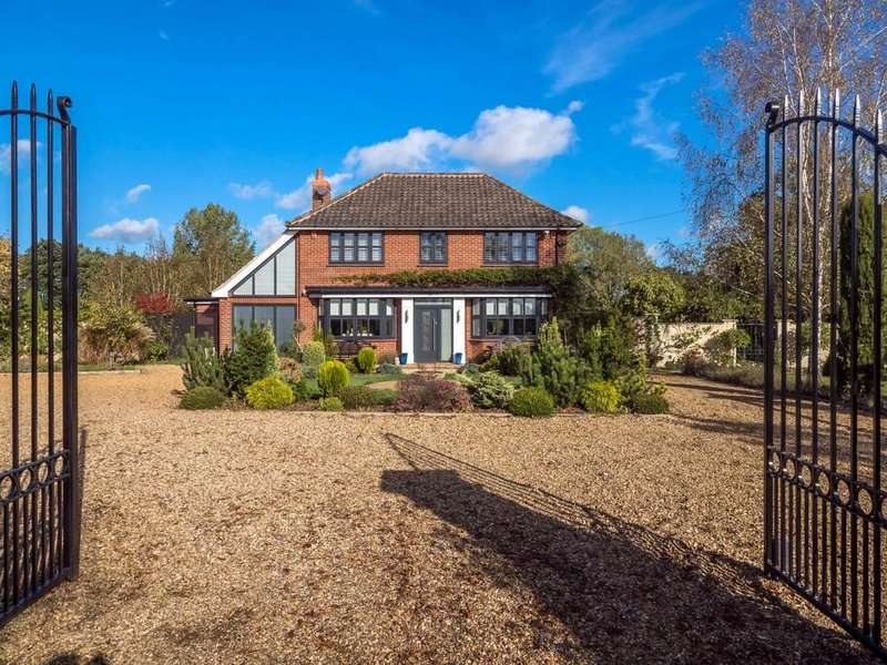 3 Bedrooms Detached House for sale in Saxthorpe
