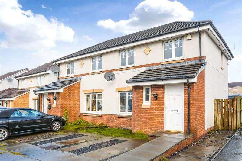 3 Bedrooms Semi Detached House for sale in 21B Hardridge Road, Glasgow, Lanarkshire, G52