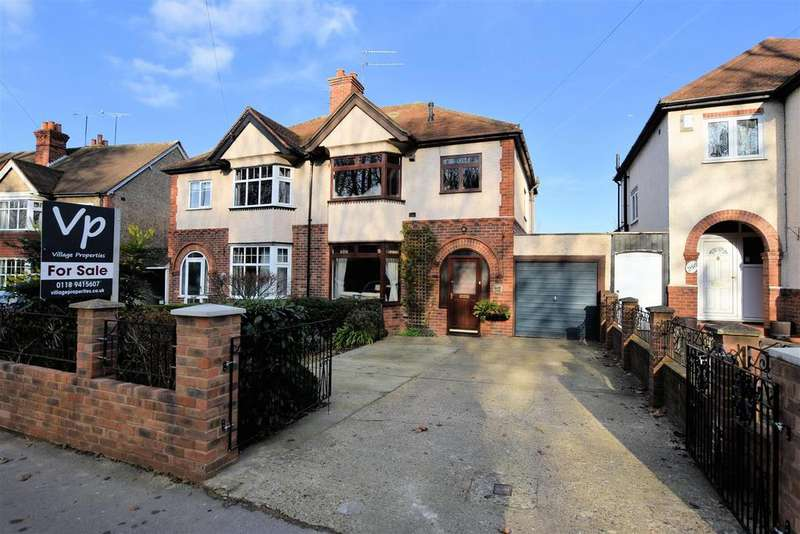 3 Bedrooms Semi Detached House for sale in Tilehurst Road, Reading