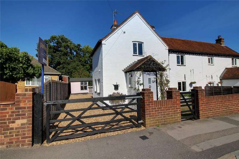 2 Bedrooms Semi Detached House for sale in Crockhamwell Road, Woodley, Reading, Berkshire, RG5