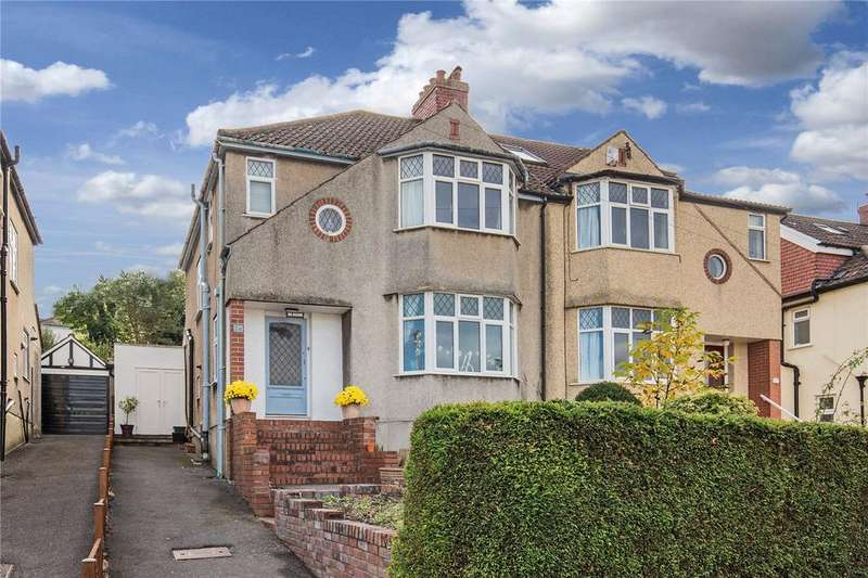 3 Bedrooms Semi Detached House for sale in Downs Cote Drive, Westbury-On-Trym, Bristol, BS9