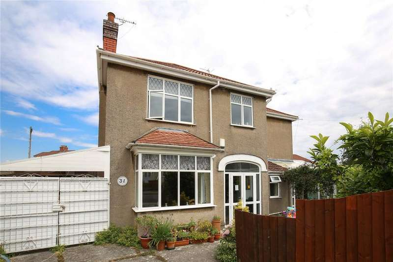 3 Bedrooms Semi Detached House for sale in South Croft, Henleaze, Bristol, BS9