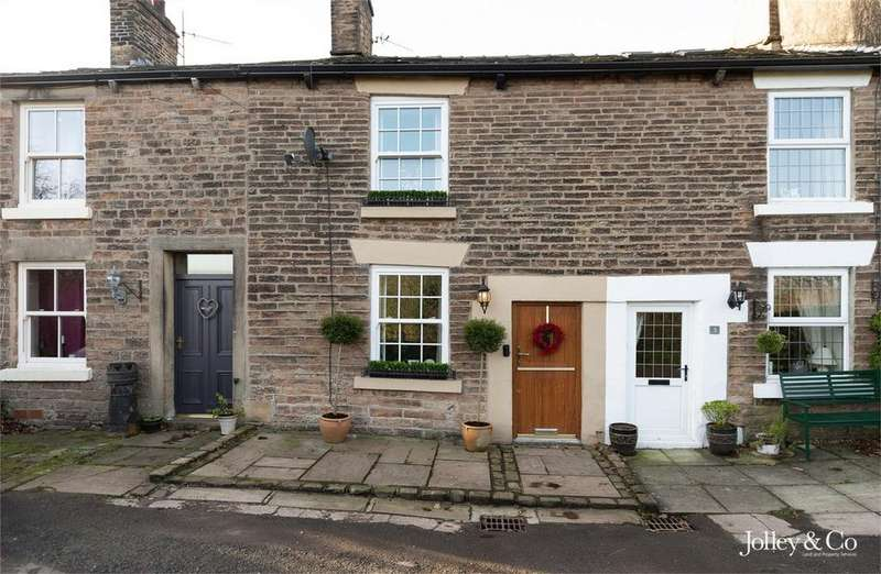 2 Bedrooms Terraced House for sale in 2 Turf Lea Road, Marple, STOCKPORT, Cheshire