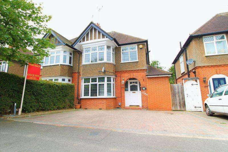 3 Bedrooms Semi Detached House for sale in Extended Family Home off Old Bedford Road, Elmwood Crescent