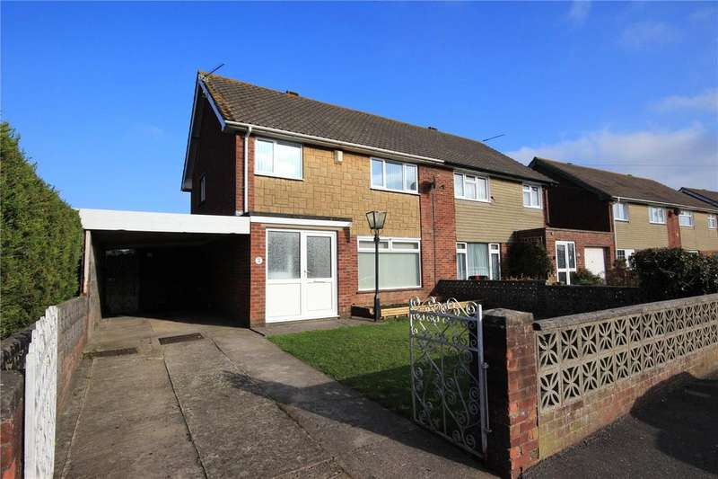 3 Bedrooms Semi Detached House for sale in Bonnington Walk, Lockleaze, Bristol, BS7