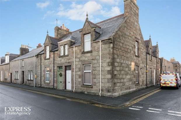 2 Bedrooms End Of Terrace House for sale in Nelson Street, Huntly, Aberdeenshire