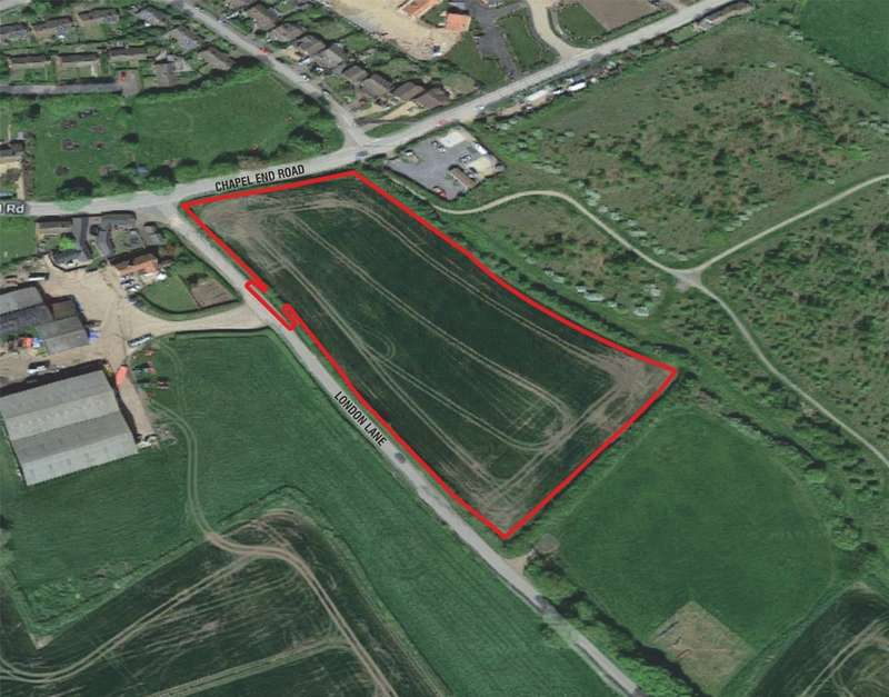Land Commercial for sale in Chapel End Road, Houghton Conquest, MK45