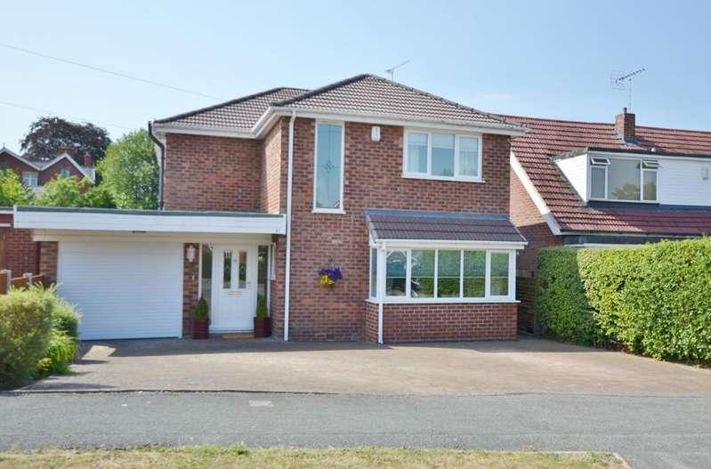 4 Bedrooms Detached House for sale in Brooklands Drive, Goostrey