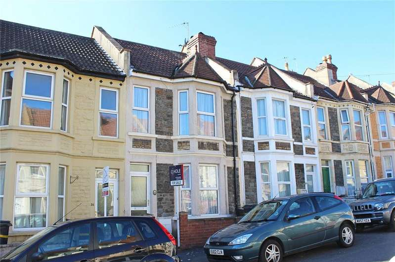 3 Bedrooms Terraced House for sale in Douglas Road, Horfield, Bristol, BS7