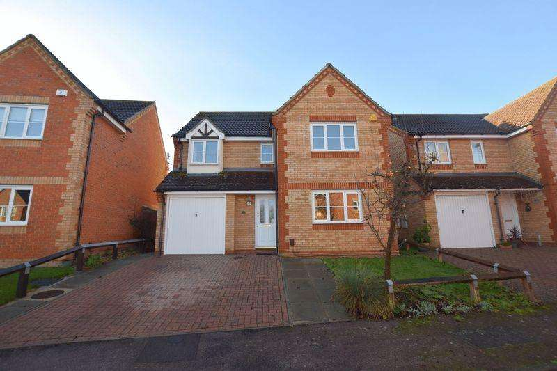 4 Bedrooms Detached House for sale in Dixon Close, Aylesbury