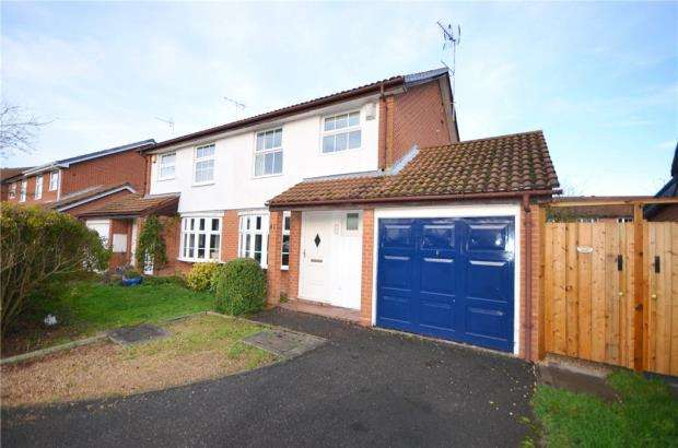 3 Bedrooms Semi Detached House for sale in Fordham Way, Lower Earley, Reading