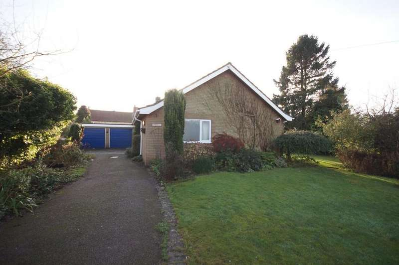 3 Bedrooms Detached Bungalow for sale in School Lane, Harmston, Lincoln