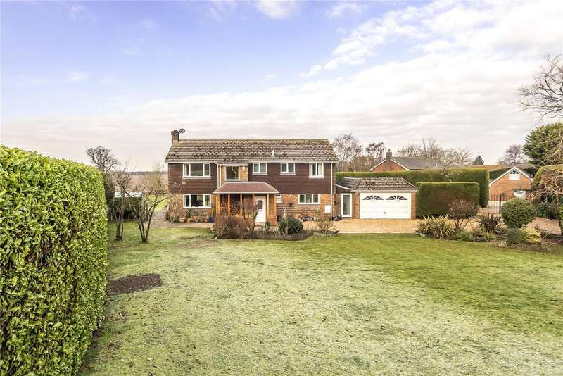 5 Bedrooms Detached House for sale in Queensfield, Dummer, Basingstoke, Hampshire, RG25