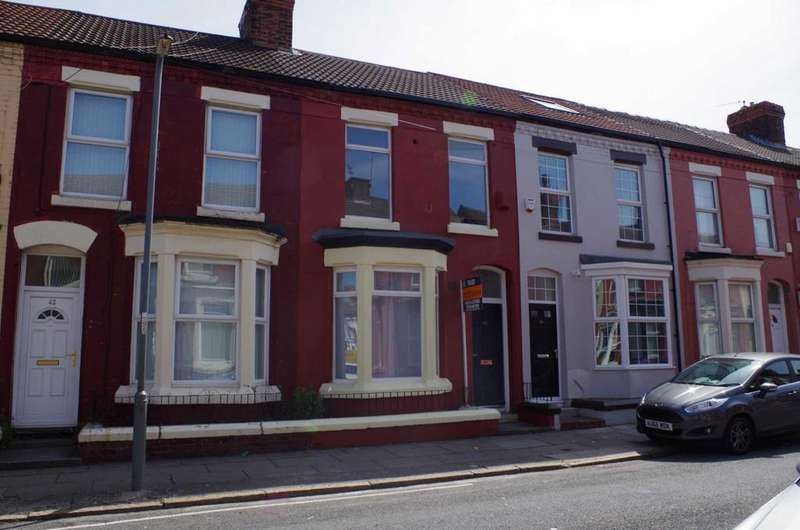 4 Bedrooms Terraced House for sale in Romer Road, Liverpool
