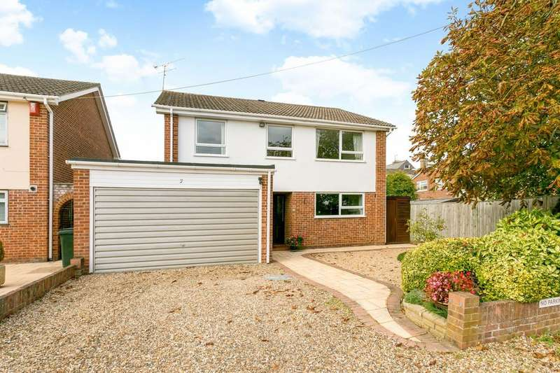 4 Bedrooms Detached House for sale in Earley Hill Road, Reading, RG6