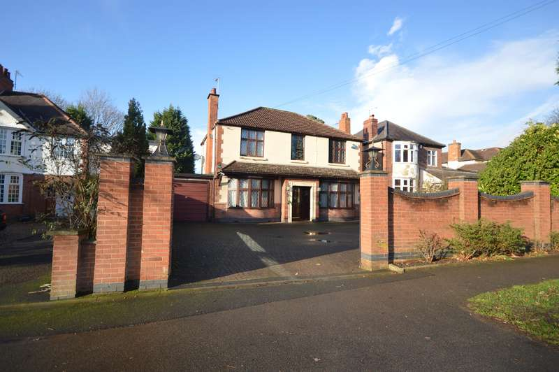 4 Bedrooms Detached House for sale in Leicester Road, Glen Parva, Leics, LE2 9HH
