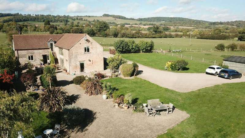 4 Bedrooms Detached House for sale in With 2 Building Plots, Unlawater Lane, Newnham, Gloucestershire, GL14