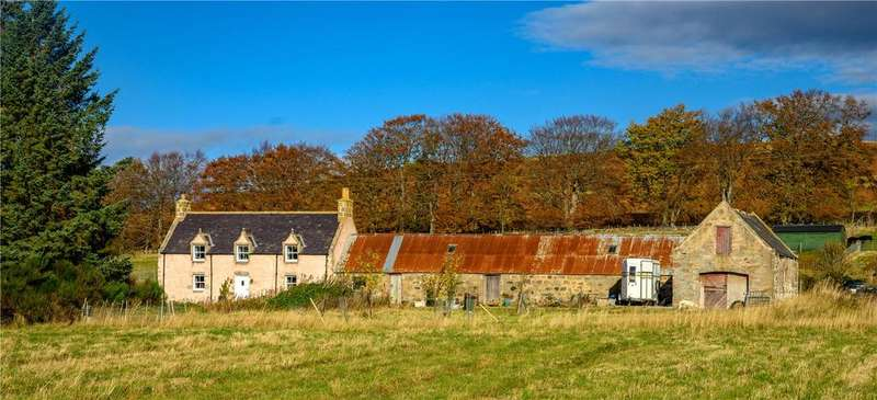 2 Bedrooms Equestrian Facility Character Property for sale in Wester Braehead Woodside Cottage, Tarland, Aboyne, Aberdeenshire, AB34