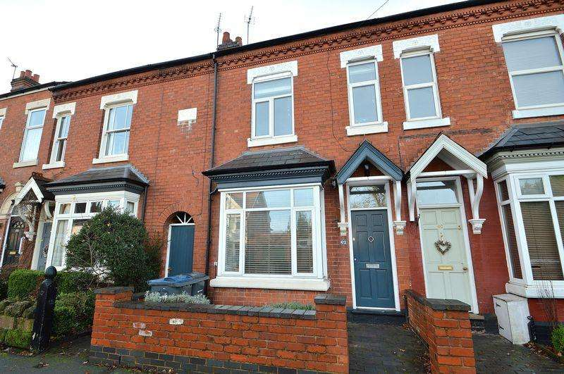 4 Bedrooms Terraced House for sale in Springfield Road, Kings Heath, Birmingham, B14
