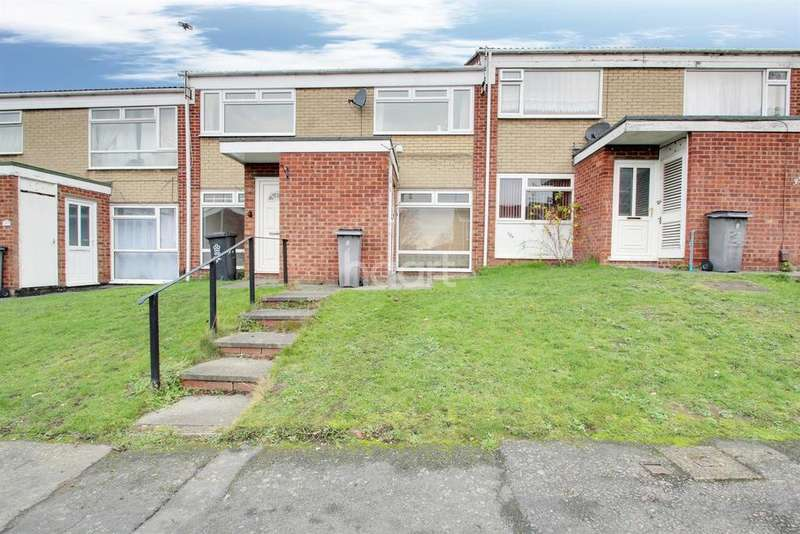 2 Bedrooms Maisonette Flat for sale in Denis Close, Leicester