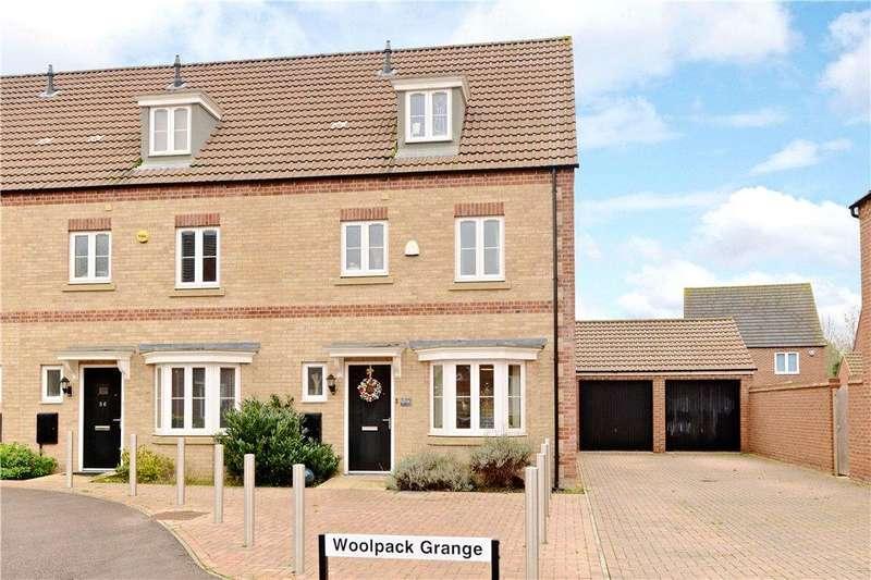 4 Bedrooms End Of Terrace House for sale in Woolpack Grange, Oakridge Park, Milton Keynes, Buckinghamshire