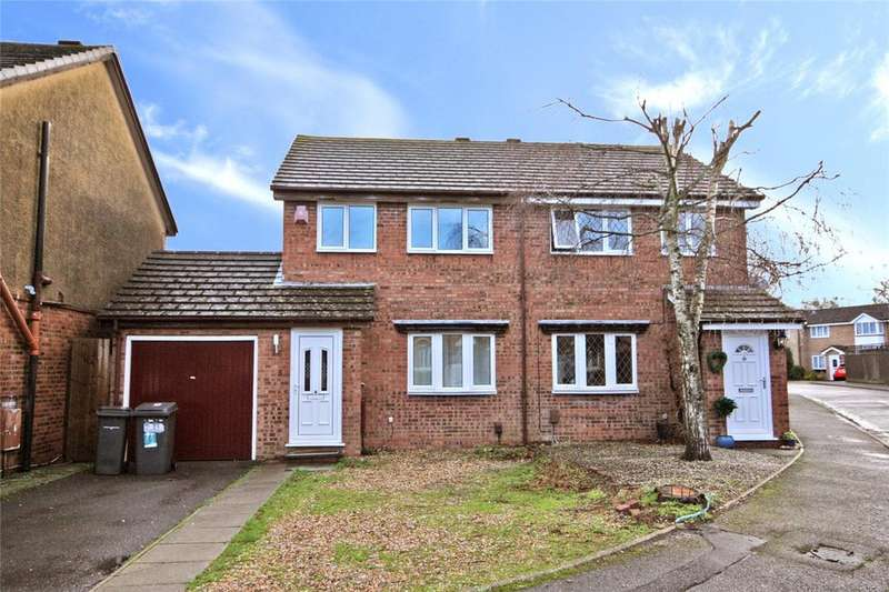 3 Bedrooms Semi Detached House for sale in Sarah Close, Bournemouth, Dorset, BH7