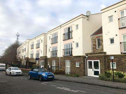 2 Bedrooms Flat for sale in Montpelier Court, Station Road, Montpelier, Bristol