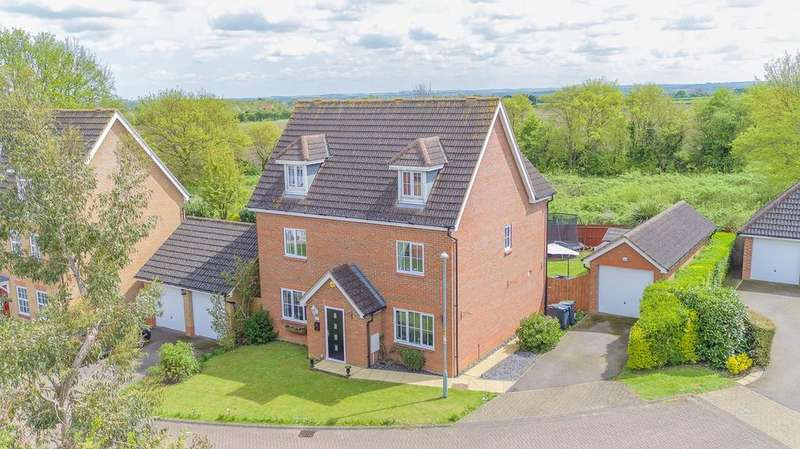 5 Bedrooms Detached House for sale in Coneygate, Meppershall, SG17