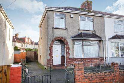 3 Bedrooms Semi Detached House for sale in Duncombe Lane, Kingswood, Bristol, South Gloucestershire