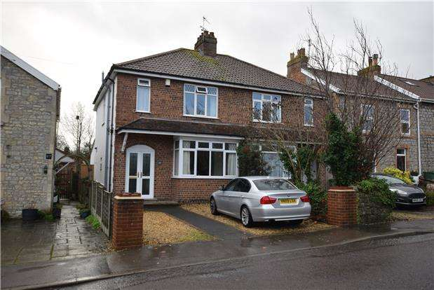 3 Bedrooms Semi Detached House for sale in Albert Road, Keynsham, BRISTOL, BS31 1AE