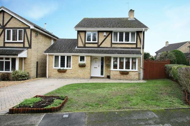 4 Bedrooms Detached House for sale in Tippits Mead, Bracknell, Berkshire, RG42 1FH