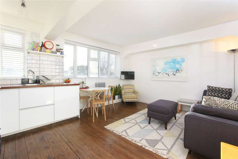 2 Bedrooms Flat for sale in Sandhurst Court, Acre Lane, Brixton, London, SW2