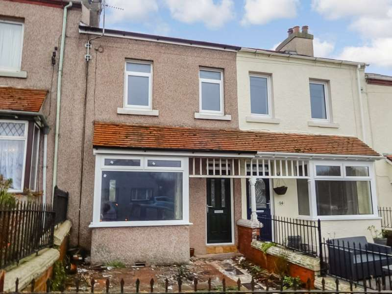 2 Bedrooms Terraced House for sale in 15 Scurgill Terrace, Egremont, Cumbria