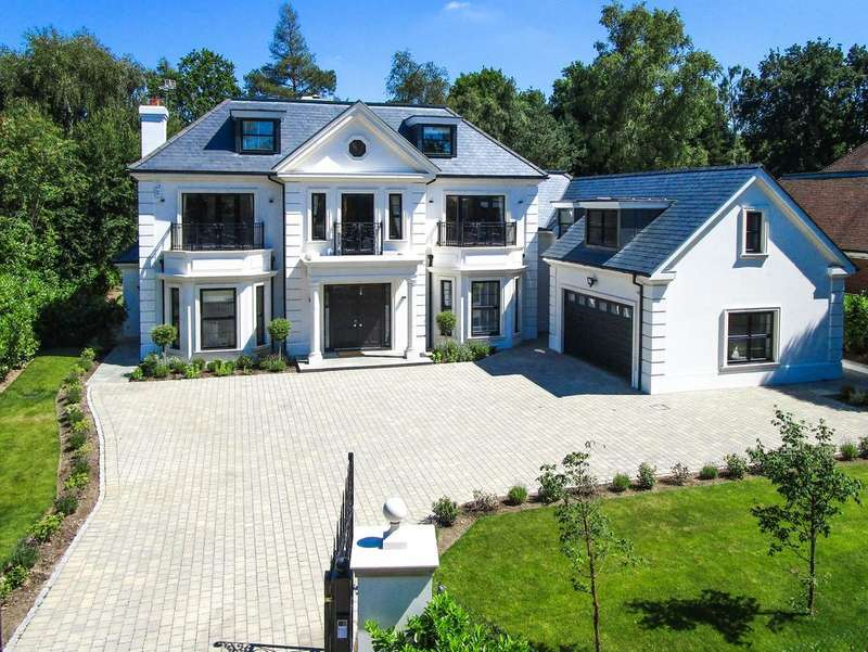 6 Bedrooms Detached House for sale in Brock Way, Wentworth, Virginia Water