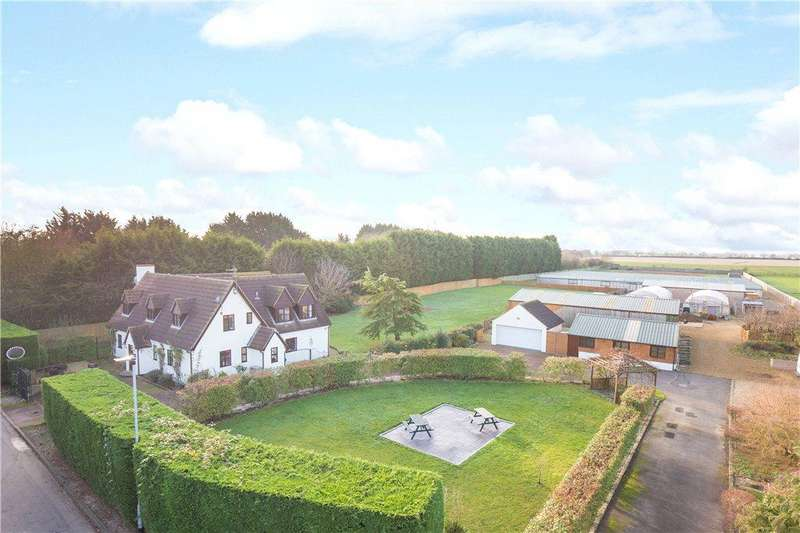 4 Bedrooms Detached House for sale in Rookery Road, Wyboston, Bedford, Bedfordshire