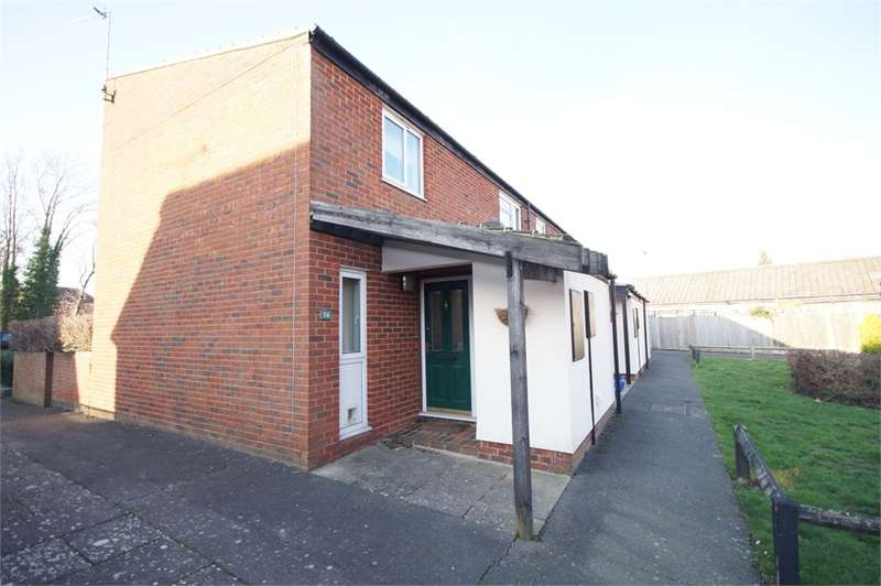 2 Bedrooms Semi Detached House for sale in Valon Road, Arborfield, READING, Berkshire