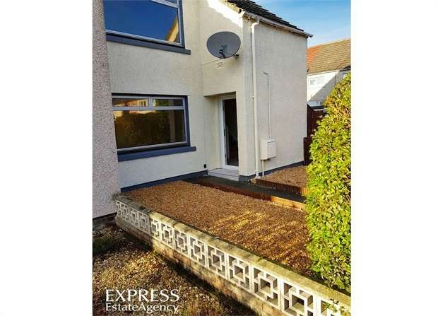 2 Bedrooms End Of Terrace House for sale in Moriston Court, Grangemouth, Falkirk