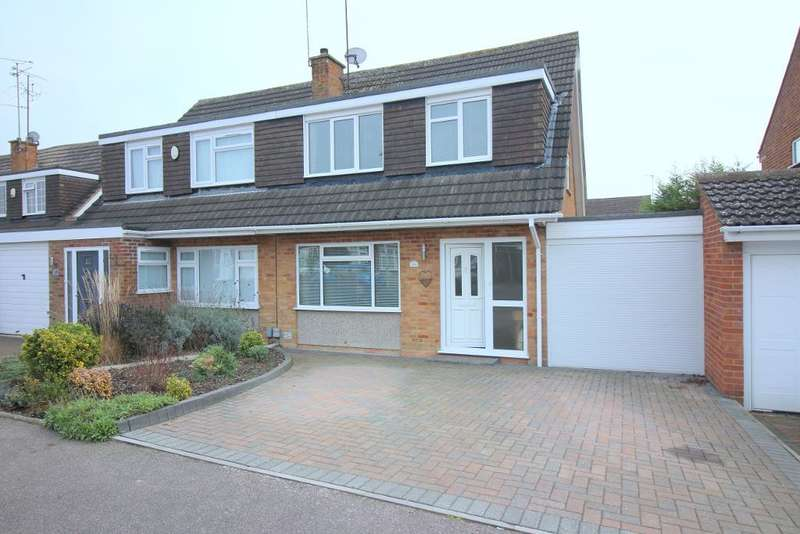 3 Bedrooms Semi Detached House for sale in Turnpike Drive, Luton, Bedfordshire, LU3 3RF