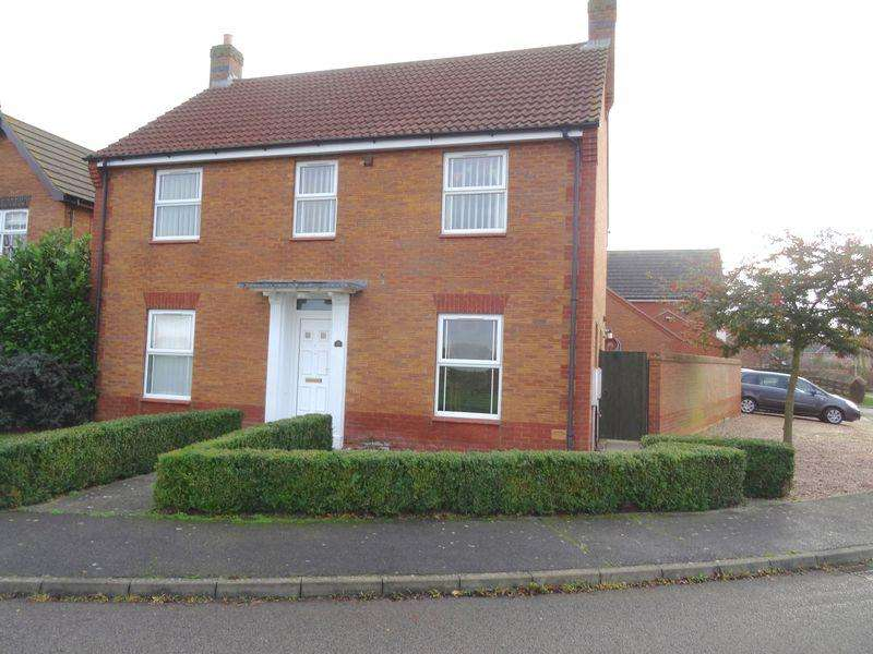 4 Bedrooms Detached House for sale in Sorrel Drive, Spalding