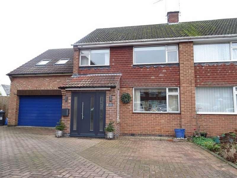 4 Bedrooms Semi Detached House for sale in Princess Road, Hinckley