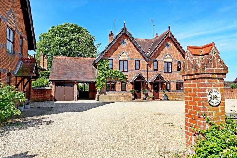 5 Bedrooms Semi Detached House for sale in Oakmoor Cottages, Bradley, Hampshire, SO24