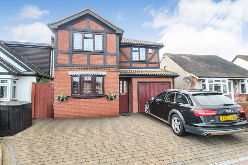4 Bedrooms Detached House for sale in Thundersley, Benfleet